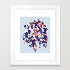 karasuno  Framed Art Print