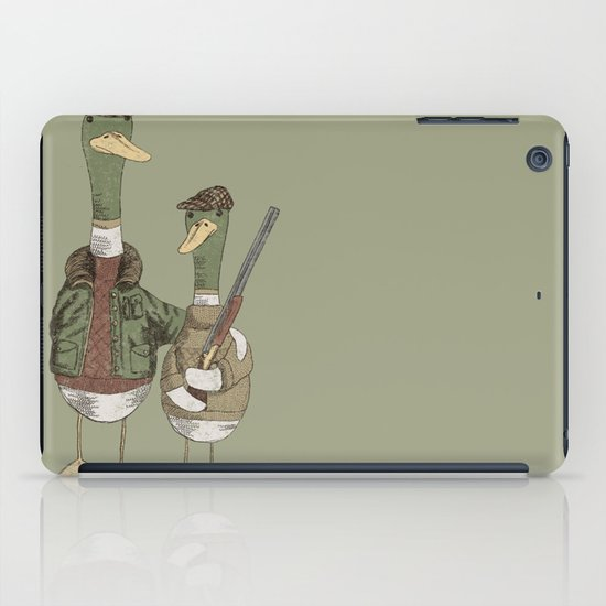 Hunting Ducks iPad Case