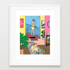 Heat Haze Framed Art Print
