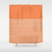 Riverside - Celosia Orange Shower Curtain