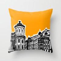 King William IV Street Throw Pillow
