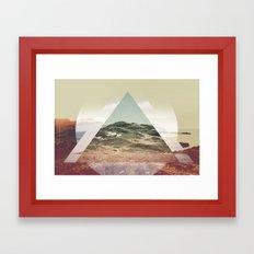 Perceptions landscapes Framed Art Print
