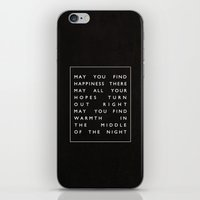 II. Find Happiness iPhone & iPod Skin