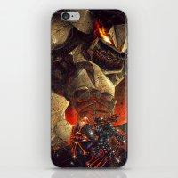 Earth Elemental battle iPhone & iPod Skin
