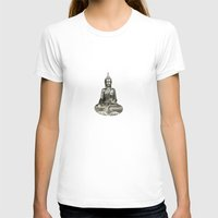 buddha T-shirts featuring Buddha by Fine Art by Rina