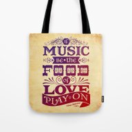 Tote Bag featuring Food Of Love  by Rollerpimp