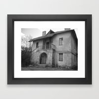 Lost On A Half Framed Art Print