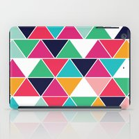 love triangle iPad Case