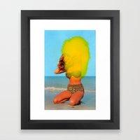 Untitled (Bikini) Framed Art Print