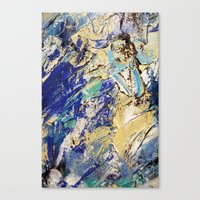 Paddling Out III Canvas Print