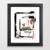 Faceboo Framed Art Print