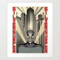 Vintage Heroes - Silver Surfer Art Print