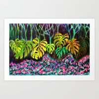 Garden Of Eden Art Print