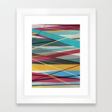 Geometric Prison 2 Framed Art Print