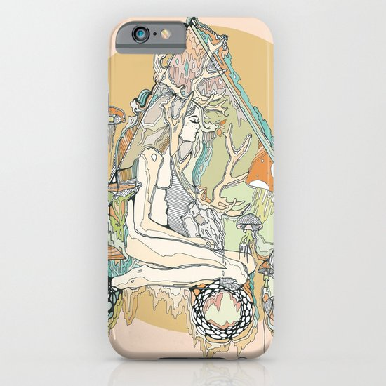 orange mushroom iPhone & iPod Case