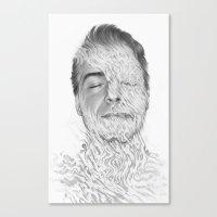 Ebb & Flow Canvas Print