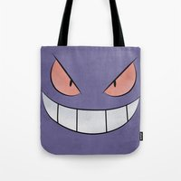 Gengar - Pokemon Minimal Poster Design Tote Bag