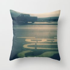 Bus Throw Pillow