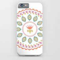 Suzani inspired floral 3 iPhone 6 Slim Case