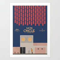 Mon Oncle - Jacques Tati Movie Poster Art Print