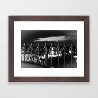 Arrows To The Sky Framed Art Print