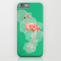 FLAMINGO: THE PINK BEAUTY iPhone 6 Slim Case