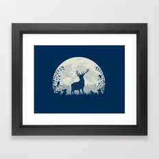 King Of The Forest Framed Art Print