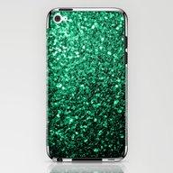 iPhone & iPod Skin featuring Beautiful Emerald Green … by PLdesign