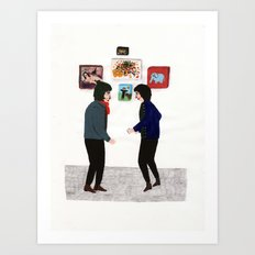 To Meet Art Print