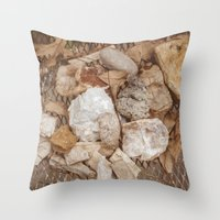 Amateur Geologist Throw Pillow