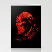 Hell Boy Stationery Cards