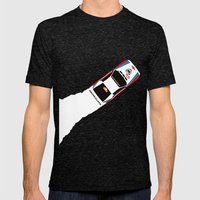 037 Mens Fitted Tee Tri-Black SMALL