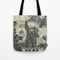 Space Slugs Die Easy Tote Bag