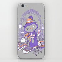 Tea Monkey Tea Party iPhone & iPod Skin