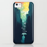iPhone 5c Cases featuring I Want My Blue Sky by Budi Kwan
