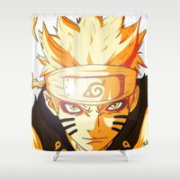 Naruto: Sage Beast Mode Shower Curtain