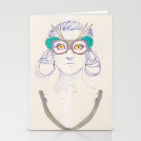 Untitled Drawing Stationery Cards