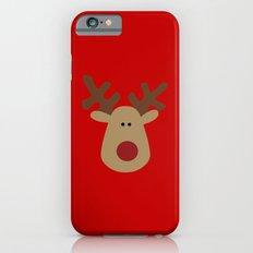Christmas Reindeer-Red Slim Case iPhone 6s
