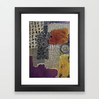 On The Beach 2 Framed Art Print