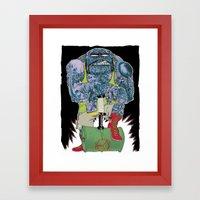 HAMMER TIME ! Framed Art Print