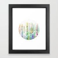 Decompose III Framed Art Print