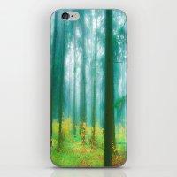 Fairy tale (Green) iPhone & iPod Skin