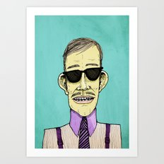 The Dapper Art Print