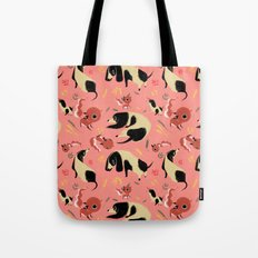 Fox Tales - Fox & Hound Tote Bag