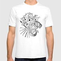 Cara De Sociedad Mens Fitted Tee White SMALL