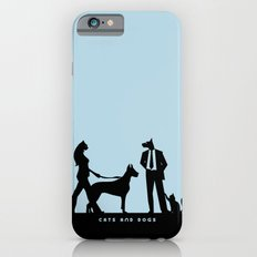 cats and dogs Slim Case iPhone 6s
