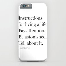 Mary Oliver iPhone 6 Slim Case