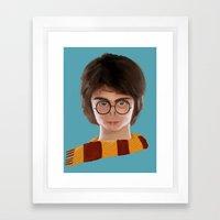 Pottermort Framed Art Print