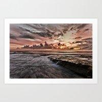 Garie Beach  Art Print