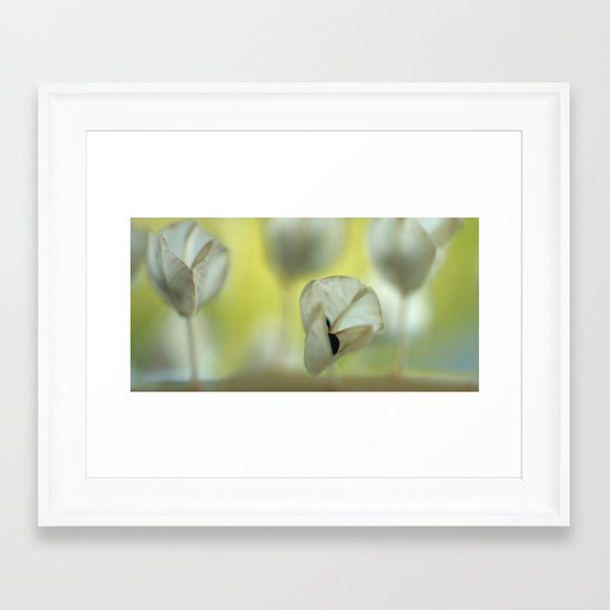 Let´s talk about it... Framed Art Print